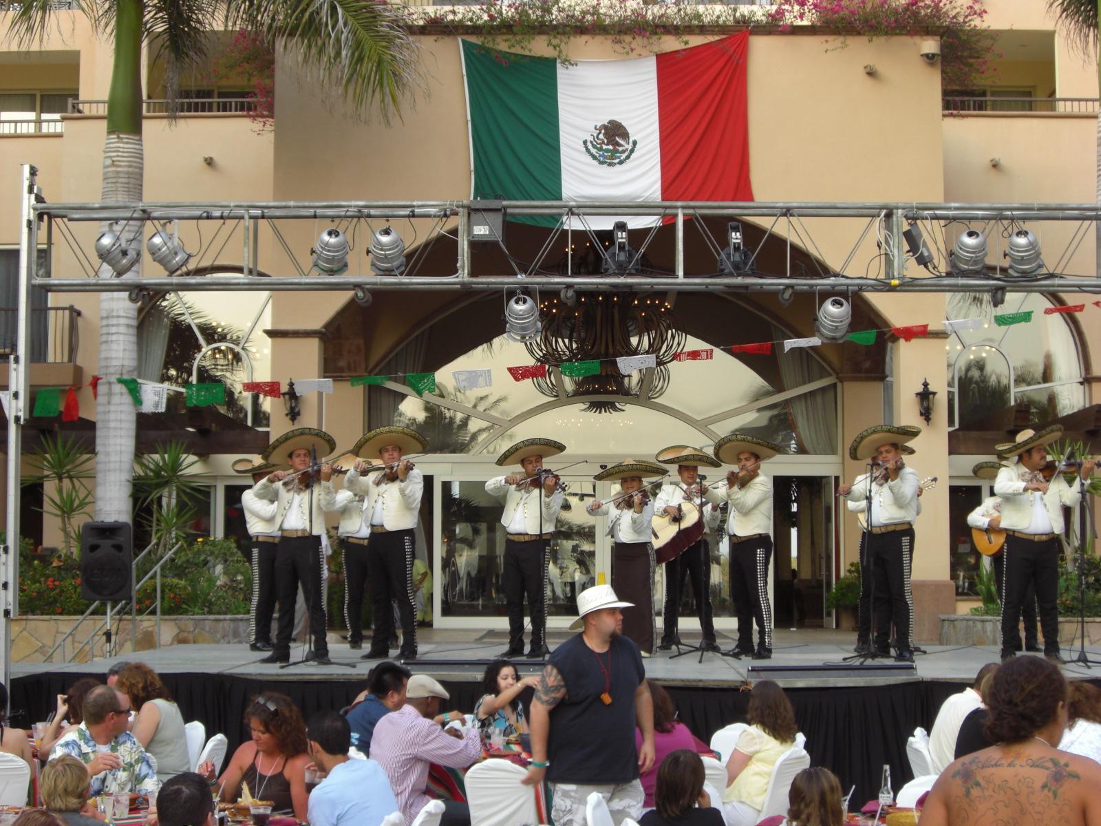 mariachi band performing