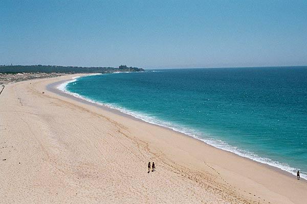 Beach north of Villa del Palmar