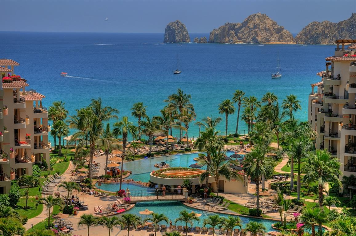 Cabo Resort Map on